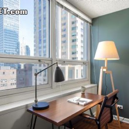 Rent this 1 bed apartment on Michigan Ave in The Chicagoan, 750 North Rush Street