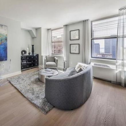 Rent this 2 bed apartment on 70 Pine Street in Cedar Street, New York