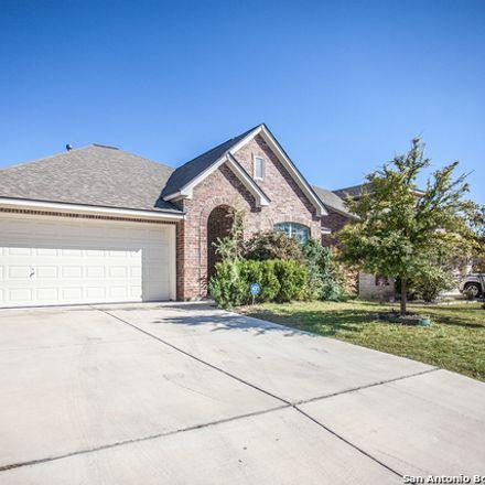 Rent this 3 bed house on Buck Creek in San Antonio, TX