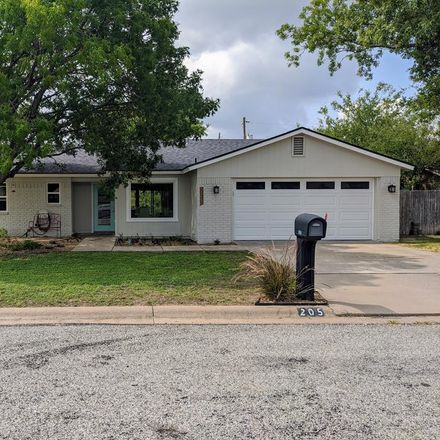 Rent this 3 bed house on 205 Inwood Drive in San Angelo, TX 76903