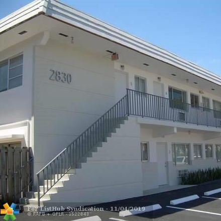 Rent this 2 bed apartment on 2830 Northeast 30th Place in Fort Lauderdale, FL 33306