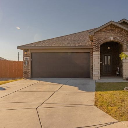 Rent this 3 bed house on 1114 Lizzard Court in Midland, TX 79705