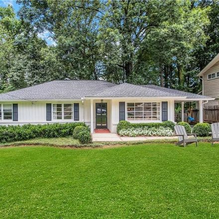 Rent this 3 bed house on 1048 Northcliffe Drive Northwest in Atlanta, GA 30318