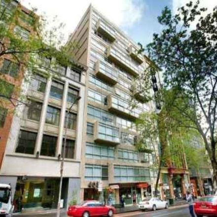 Rent this 1 bed apartment on 718/408 Lonsdale Street