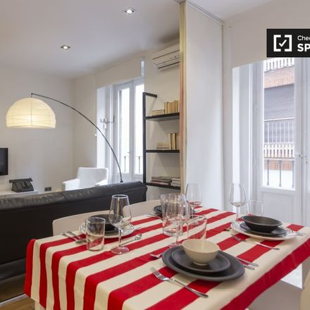 Rent this 1 bed apartment on Calle de San Bernardo in 24, 28015 Madrid