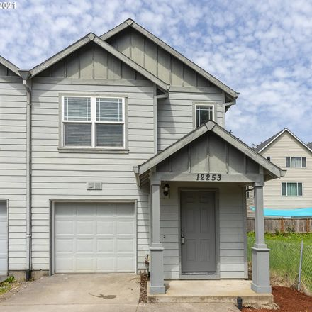 Rent this 3 bed townhouse on 12253 Southeast Schiller Street in Portland, OR 97236