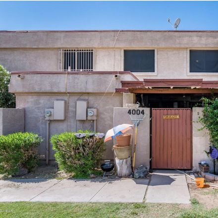 Rent this 2 bed townhouse on 4004 West Wonderview Road in Phoenix, AZ 85019