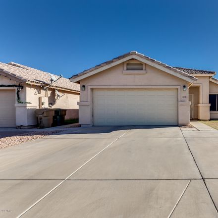 Rent this 3 bed house on 1677 North La Mora Drive in Goodyear, AZ 85338