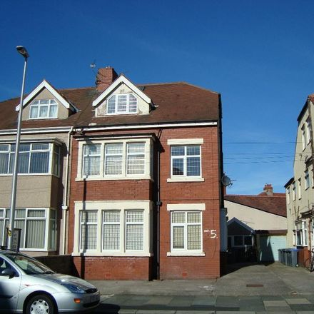 Rent this 1 bed apartment on Luton Road in Blackpool FY5 3QX, United Kingdom