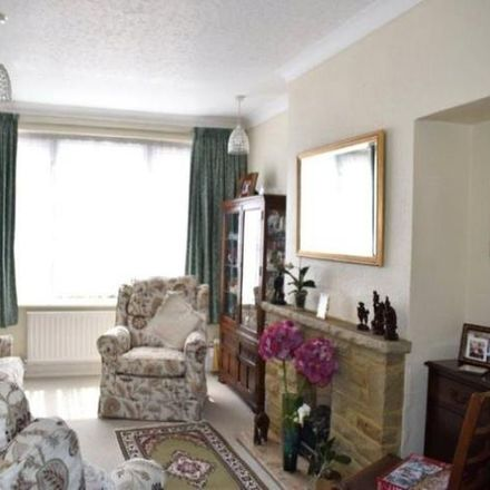 Rent this 3 bed house on Meadow Gardens in Runnymede TW18 3HE, United Kingdom