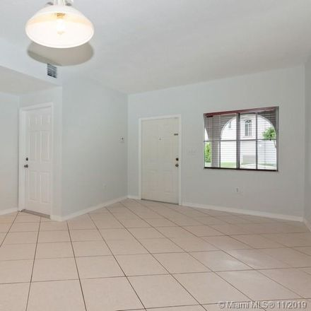 Rent this 3 bed condo on 8391 Southwest 124th Avenue in Lindgren Acres, FL 33183