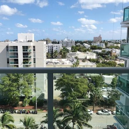Rent this 0 bed condo on Mirador Apartments South Tower in 1000 West Avenue, Miami Beach
