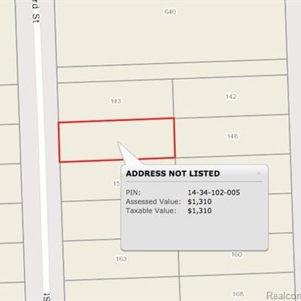 Rent this 0 bed apartment on 153 Seward Street in Pontiac, MI 48342