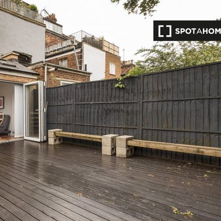 Rent this 2 bed apartment on 50 Mazenod Avenue in London NW6 4LS, United Kingdom