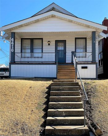 Rent this 1 bed house on 4416 South 38th Street in City of Saint Louis, MO 63116