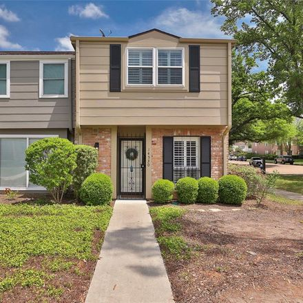 Rent this 2 bed townhouse on 14530 Misty Meadow Lane in Houston, TX 77079