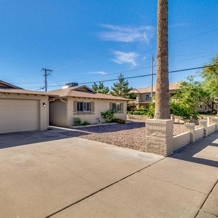 Rent this 4 bed house on 8205 East Devonshire Avenue in Scottsdale, AZ 85251