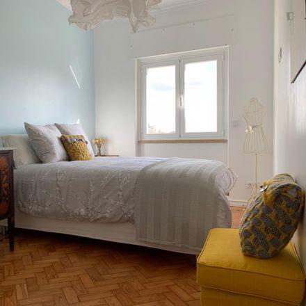 Rent this 1 bed apartment on Rua Conde de Sabugosa 23 in 1700-115 Lisbon, Portugal