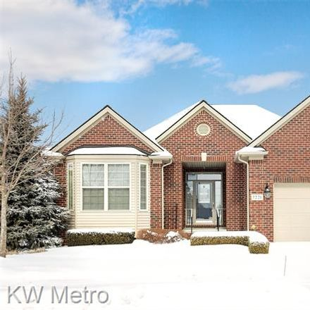 Rent this 3 bed condo on 7221 Augusta Drive in Washington Township, MI 48094