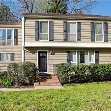 Rent this 4 bed house on 2309 Wistar Place in Sweet Briar Park, VA 23294