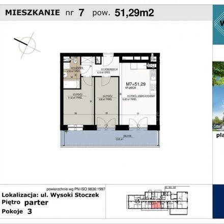 Rent this 3 bed apartment on Aleja Jana Pawła II in 15-685 Białystok, Poland