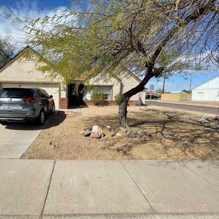 Rent this 3 bed house on North 50th Avenue in Glendale, AZ 85304