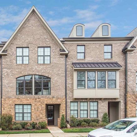 Rent this 4 bed townhouse on 1605 Bowery Drive in Raleigh, NC 27607