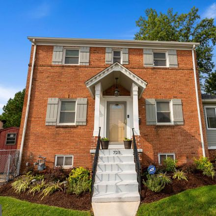 Rent this 3 bed house on 725 University Boulevard East in Silver Spring, MD 20903