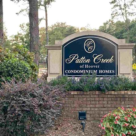 Rent this 2 bed condo on Patton Chapel Way in Hoover, AL 35226