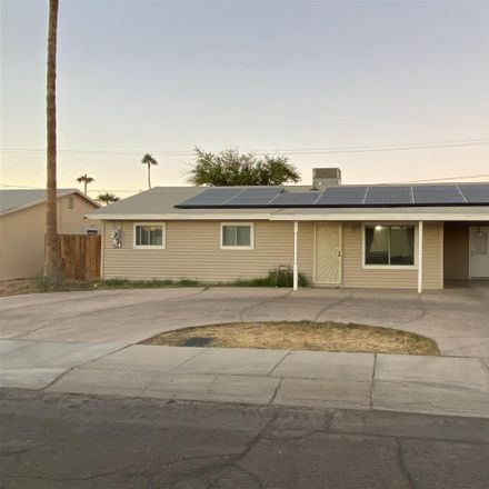 Rent this 3 bed house on 1150 East Corona Drive in Yuma, AZ 85365
