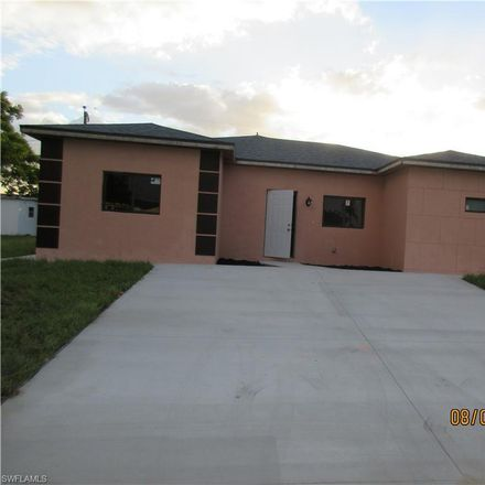 Rent this 3 bed duplex on 423 Canyon Drive South in Presbyterian Villas Of Lehigh, FL 33936