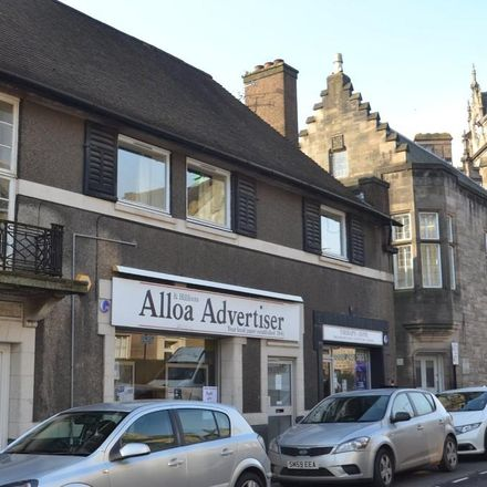 Rent this 2 bed apartment on Drysdale Street in Alloa FK10 1JA, United Kingdom