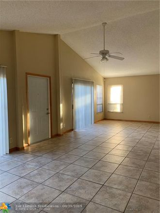 Rent this 3 bed townhouse on 1329 Southwest 74th Avenue in North Lauderdale, FL 33068