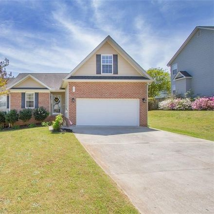 Rent this 3 bed house on 206 Harrington Drive in Regency Park, SC 29625