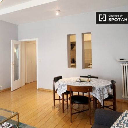 Rent this 1 bed apartment on Rue de Suisse - Zwitserlandstraat 15 in 1060 Saint-Gilles - Sint-Gillis, Belgium