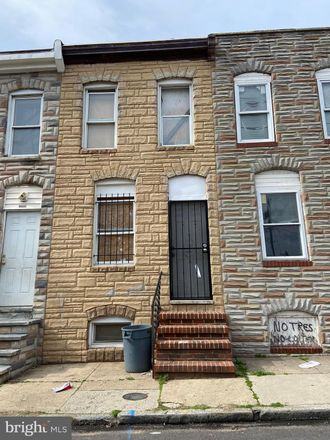 Rent this 2 bed townhouse on 2206 Christian Street in Baltimore, MD 21223