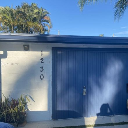 Rent this 1 bed townhouse on 1230 North Victoria Park Road in Fort Lauderdale, FL 33304