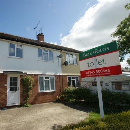 Rent this 3 bed house on Tavistock Road in Chelmsford CM1 6JL, United Kingdom