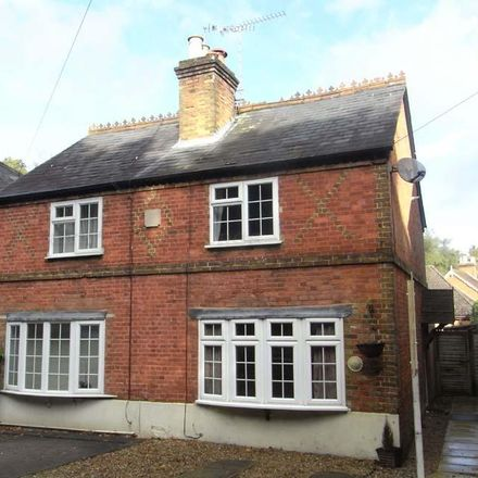 Rent this 2 bed house on London Road in Chavey Down SL5 8DL, United Kingdom