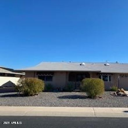Rent this 2 bed house on 14215 North Tumblebrook Way in Sun City, AZ 85351