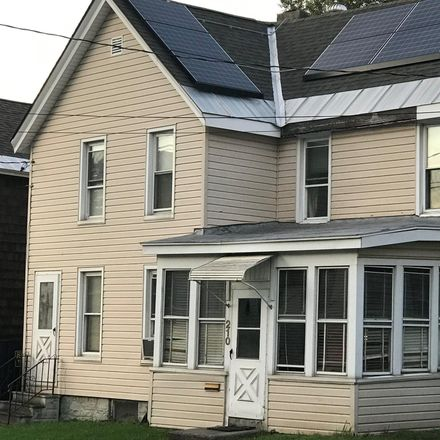 Rent this 3 bed house on 210 Meadow Street in City of Johnstown, NY 12095