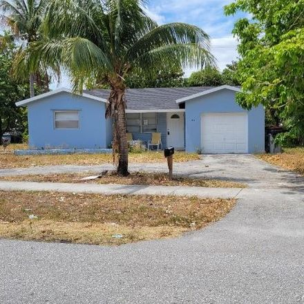 Rent this 3 bed house on 2861 Northeast 1st Avenue in Pompano Beach, FL 33064