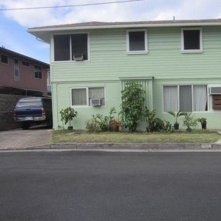 Rent this 3 bed duplex on 1929 Date Street in Honolulu, HI 96826