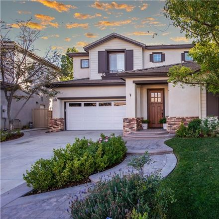 Rent this 4 bed house on 24306 Foxglove Pl in Valencia, CA
