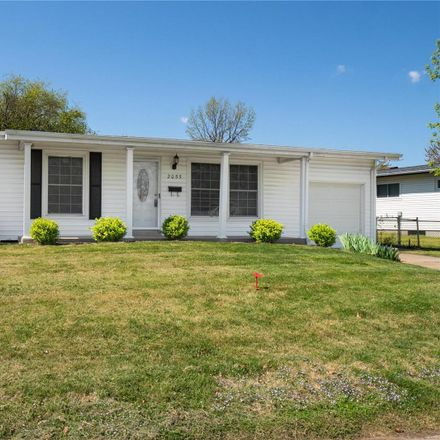 Rent this 3 bed house on 2055 Flight Drive in Florissant, MO 63031