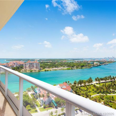 Rent this 2 bed condo on Continuum on South Beach I in 100 South Pointe Drive, Miami Beach
