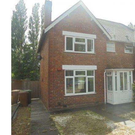 Rent this 3 bed house on Tame Street East in Walsall WS1 3LB, United Kingdom