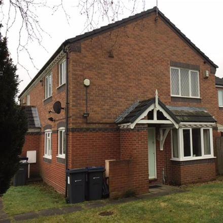 Rent this 1 bed apartment on 104;106 Gospel Lane in Birmingham B27 7AD, United Kingdom