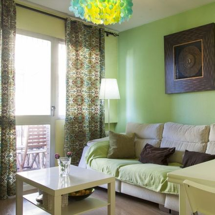 Rent this 1 bed apartment on Paseo de los Pontones in 13, 28001 Madrid