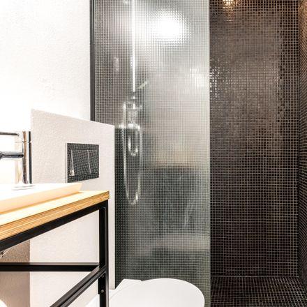 Rent this 1 bed apartment on 5508 in Józefa Chełmońskiego, 60-757 Poznań